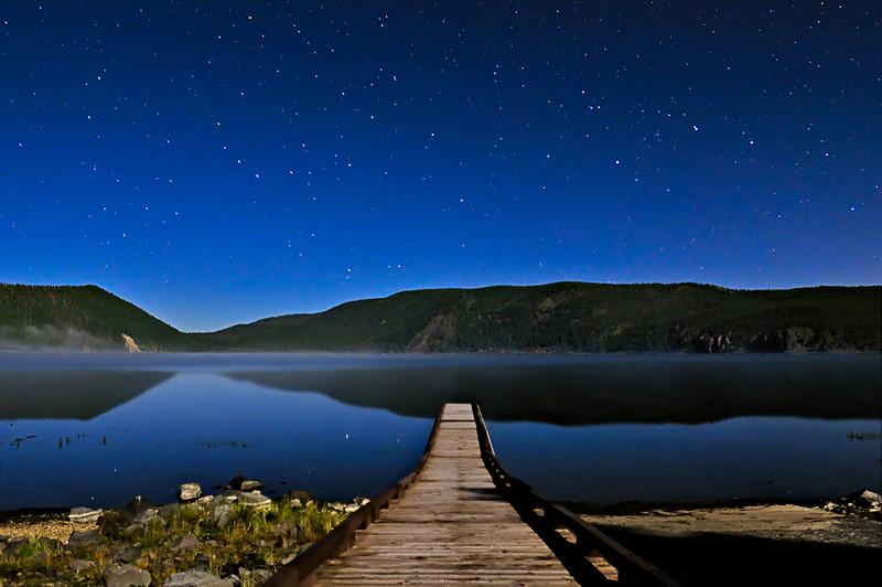 A Moonlit Walk into the Stars