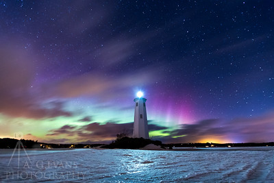Loon Island Light Aurora II