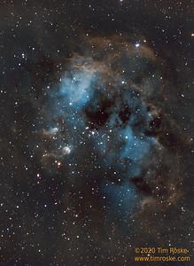 Tadpole Nebula, IC405