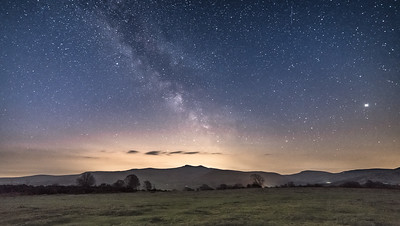 Milky Way over the Brecon Beacons