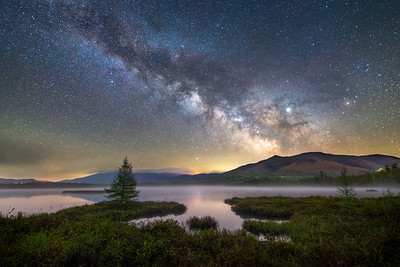 Cherry Pond Milky Way