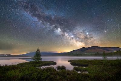 Cherry Pond Milky Way