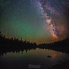 Milky Way Reflections, Summit Lake, Lassen Volcanic National Park