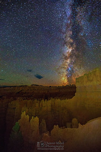 The Milky Way over the Silent City, Bryce Canyon National Park