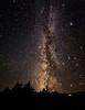 Milky Way in Nevada Basin and Range Dark Skies