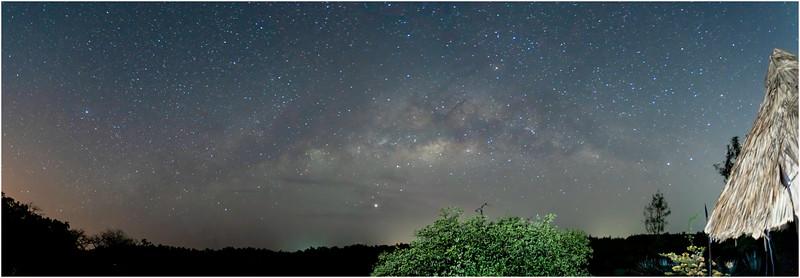 Milky Way Panorama, Makasutu, Gambia, 28 February 2020