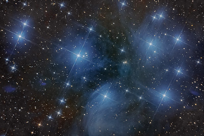 M45 44 Minutes Total exposure