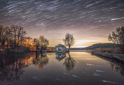 Llangorse lake star trail