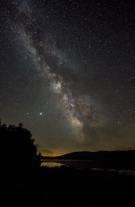 Milky Way over Morehouse Lake