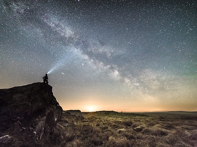 Starry skies over the Elan Valley