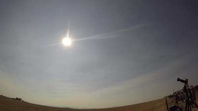 Video of 2017 Total Eclipse from Madras, OR.