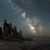 Sand Beach and Our Home Galaxy