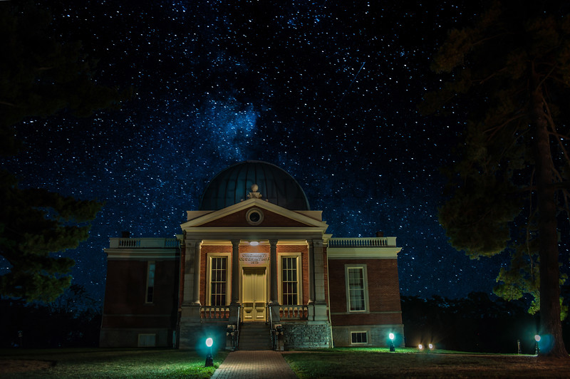 Cincinnati Observatory Under The Stars