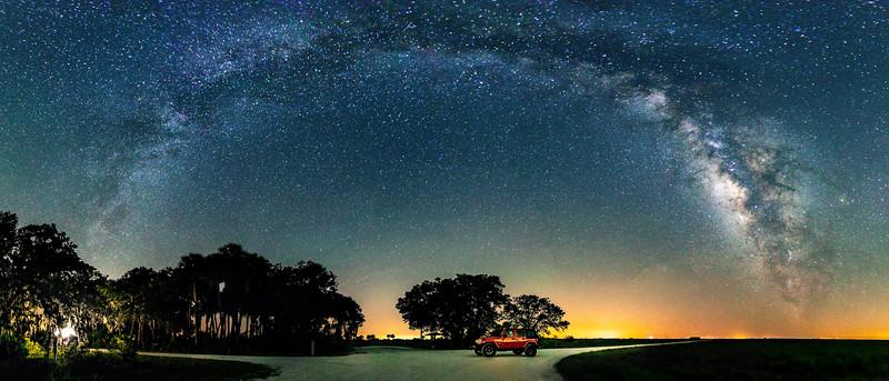 Jeepin it Under the Stars