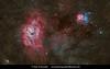 Lagoon & Trifid Nebula