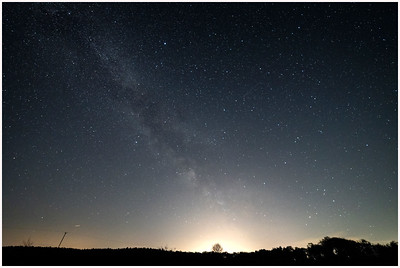 Milky Way, Buxton Heath, Norfolk, United Kingdom, 11 May 2021