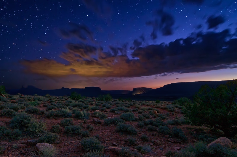 Kissing the Desert Sky Goodnight