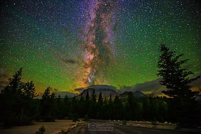 Milky Way over Lassen Peak, Lassen Volcanic National Park