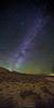 Winter Milky Way over the Eastern Sierra Nevadas, Eastern Sierra Nevada Mountains, California