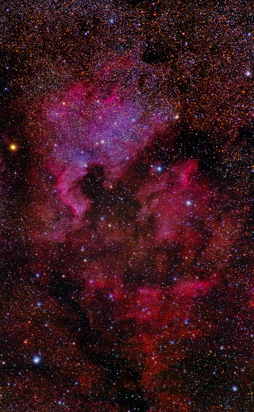 NGC 7000 rework