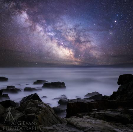 Rocks Under the Stars