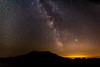 Milky Way at Mount Saint Helens