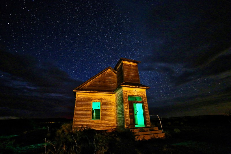 Taiban Church Under the Stars