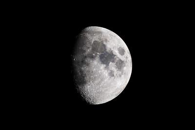 Waxing Gibbous Moon on 2017-05-05