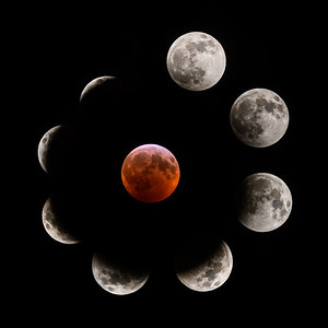 Super Blood Wolf Moon Eclipse 2