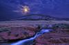 Moonshine Falls in the Laramie Foothills