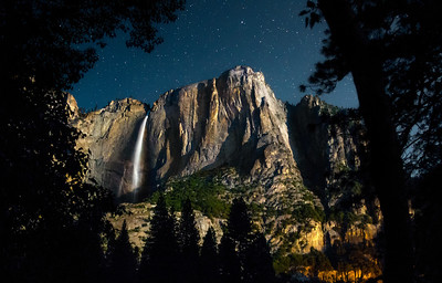 Yosemite Falls Vignetted
