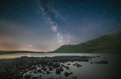 Starry Night at Llyn y Fan Mawr