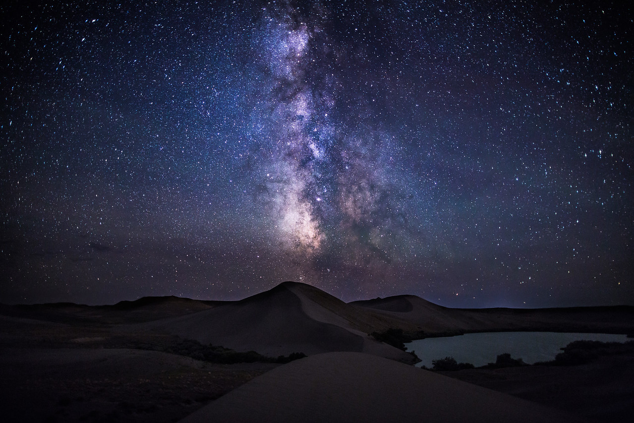 Bruneau Dunes Milky Way