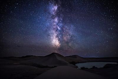 Bruneau Dunes Milky Way