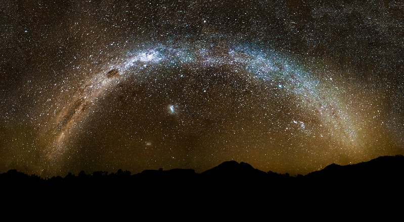 Warrumbungles Milkyway Panorama
