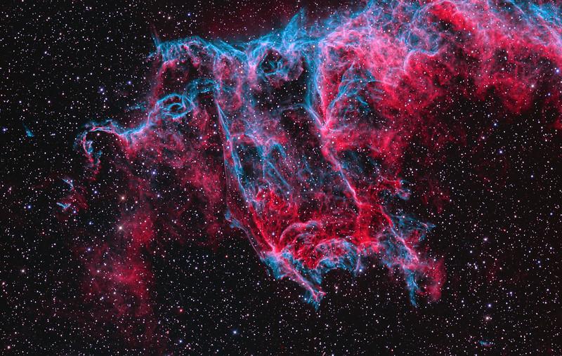 NGC6995 The Bat