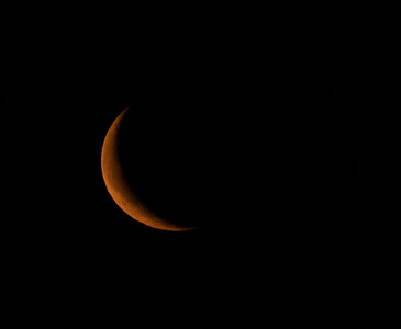 Waning Crescent Moonrise