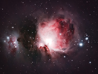 Orion and Running Man Nebulas