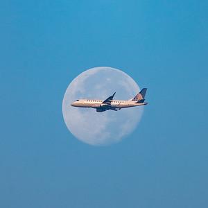 United Intercepts the Moon