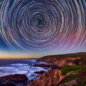 Bodega Head Star Trails