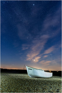 Boat and Milky Way, Cley, Norfolk, United Kingdom, 21 June 2020