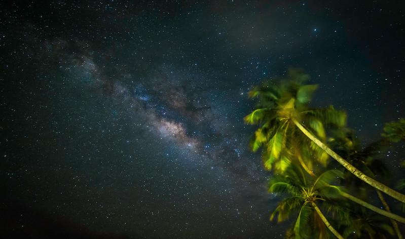Maldives Milky Way