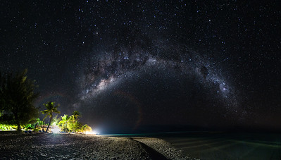 Milky Way in Raro