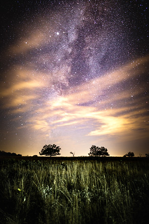 Big Meadows || Shenandoah National Park, Virginia, USA  Canon EOS 6D @ 20.0 sec, ISO 1600