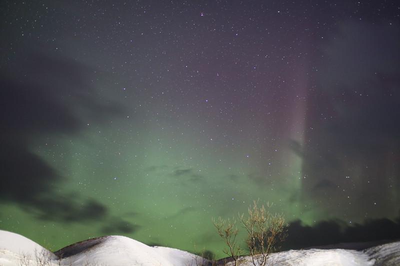 Aurora seen from Vik Iceland 2018