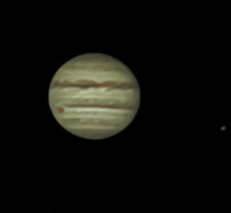 Jupiter April 9, 2018