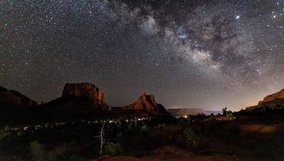 Milky Way, Sedona