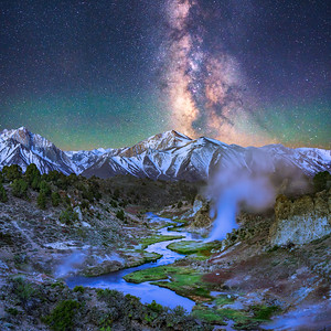 Mammoth Lakes Milky Way