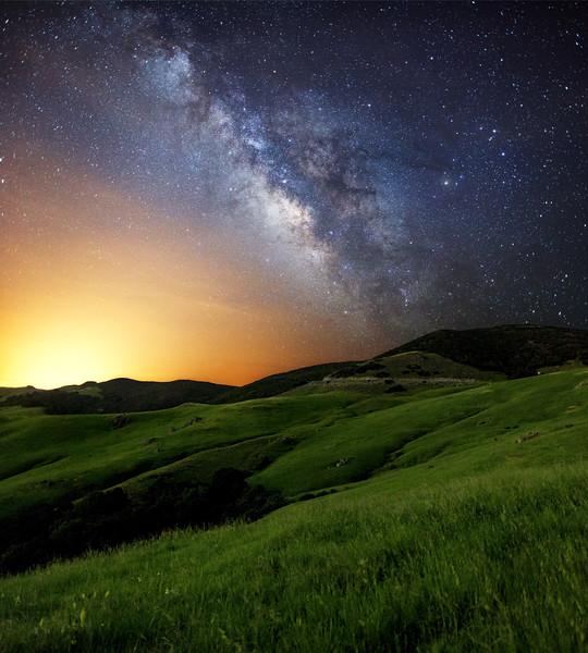Milky Way at Prefumo Canyon, California