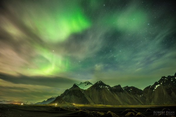 Iceland - Stokksnes Aurora